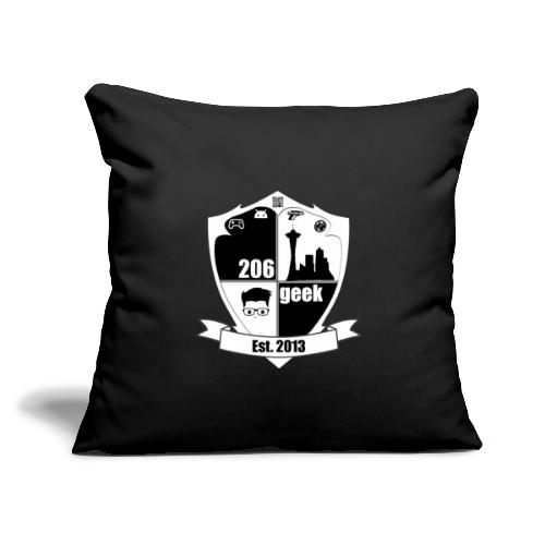 """206geek podcast - Throw Pillow Cover 17.5"""" x 17.5"""""""