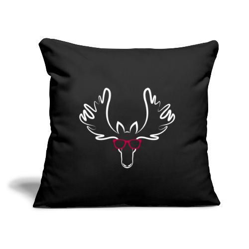 "Peter Moosebridge - Throw Pillow Cover 17.5"" x 17.5"""