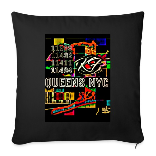"""Limited QueensNyc Line - Throw Pillow Cover 17.5"""" x 17.5"""""""