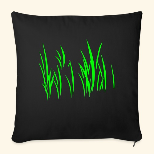 "lots_of_grass1 - Throw Pillow Cover 17.5"" x 17.5"""