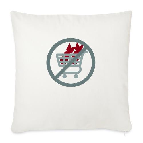 """No War Profit! - Throw Pillow Cover 17.5"""" x 17.5"""""""