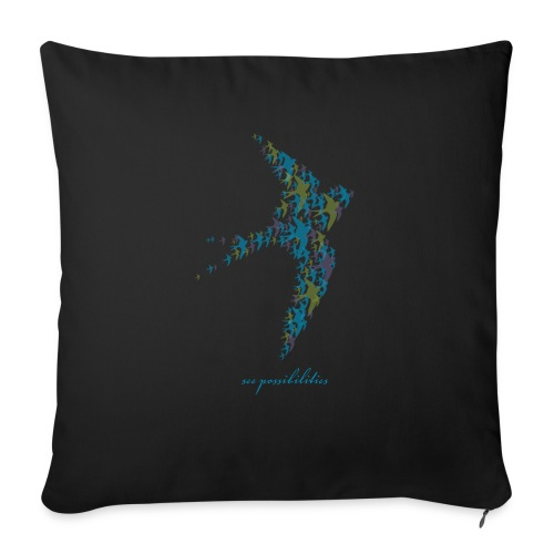 """See Possibilities - Throw Pillow Cover 17.5"""" x 17.5"""""""