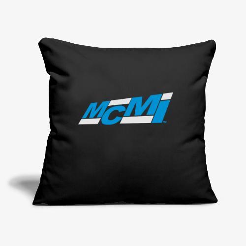 """mcmiepmdlogo2 - Throw Pillow Cover 17.5"""" x 17.5"""""""