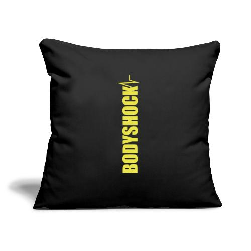 "BodyShock Leggings - Throw Pillow Cover 17.5"" x 17.5"""