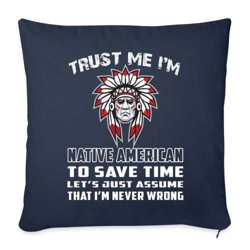 Native American - Throw Pillow Cover
