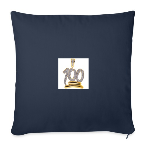 Gold 100 merch - Throw Pillow Cover