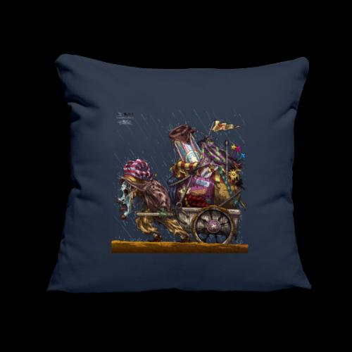 "Circus Of One - Throw Pillow Cover 18"" x 18"""