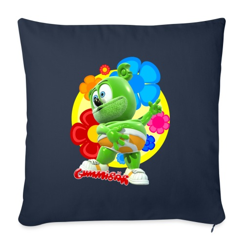"Gummibär Flowers - Throw Pillow Cover 17.5"" x 17.5"""