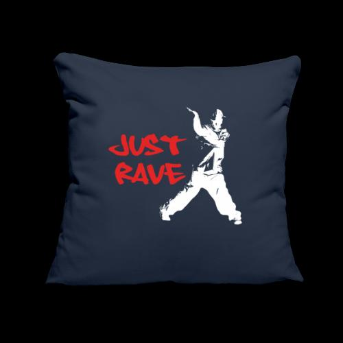 """Just Rave! - Throw Pillow Cover 17.5"""" x 17.5"""""""