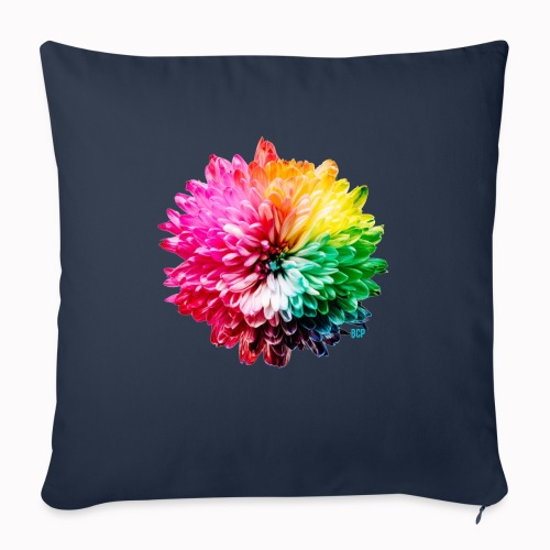 "Flower Power - Throw Pillow Cover 17.5"" x 17.5"""
