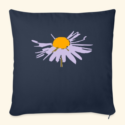 "please don't eat the daisy - Throw Pillow Cover 17.5"" x 17.5"""