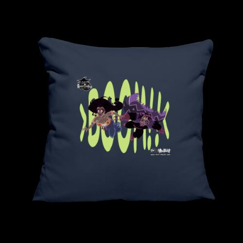 """Boom! - Throw Pillow Cover 18"""" x 18"""""""
