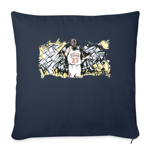 """MJ - Throw Pillow Cover 18"""" x 18"""""""
