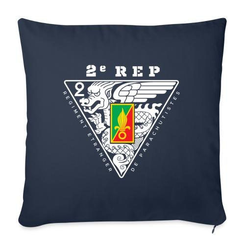 """2e REP - 2 REP - Legion - Badge - Throw Pillow Cover 18"""" x 18"""""""