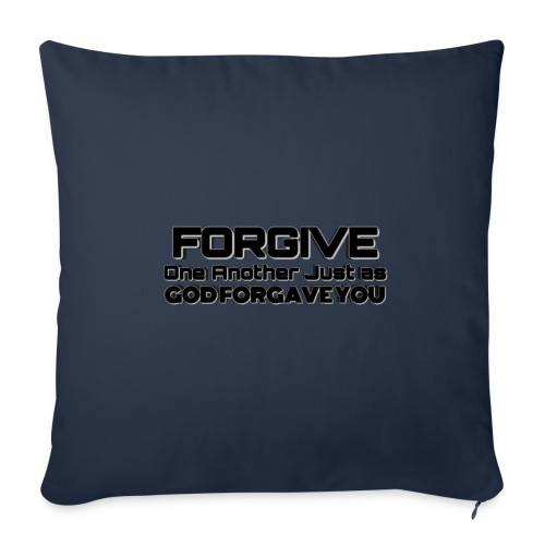 """Forgive - Throw Pillow Cover 17.5"""" x 17.5"""""""