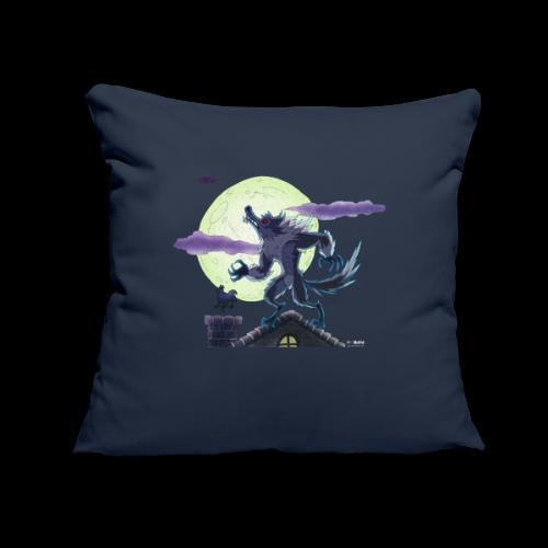 "Animal - Throw Pillow Cover 17.5"" x 17.5"""