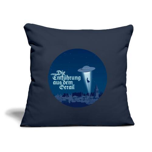 """Die Entführung aus dem Serail: UFO (circle) - Throw Pillow Cover 17.5"""" x 17.5"""""""