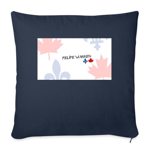 """Logo do Canal - Throw Pillow Cover 18"""" x 18"""""""