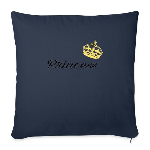 """Princess - Throw Pillow Cover 18"""" x 18"""""""