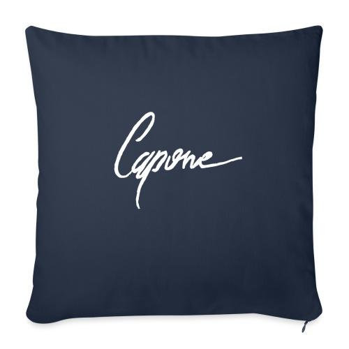 "Capore final2 - Throw Pillow Cover 18"" x 18"""