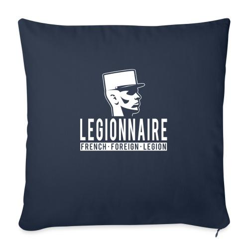 "Legionnaire - French Foreign Legion - Throw Pillow Cover 18"" x 18"""