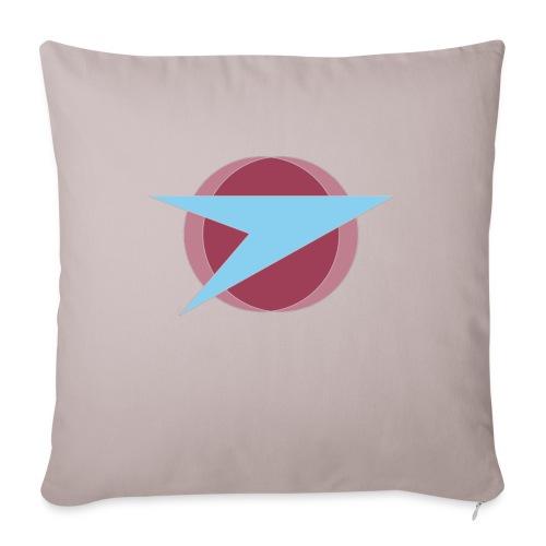 "Terran Federation Mug with Slogan - Throw Pillow Cover 17.5"" x 17.5"""