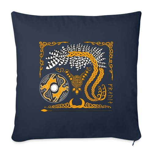 "Freya's Tears - Throw Pillow Cover 17.5"" x 17.5"""