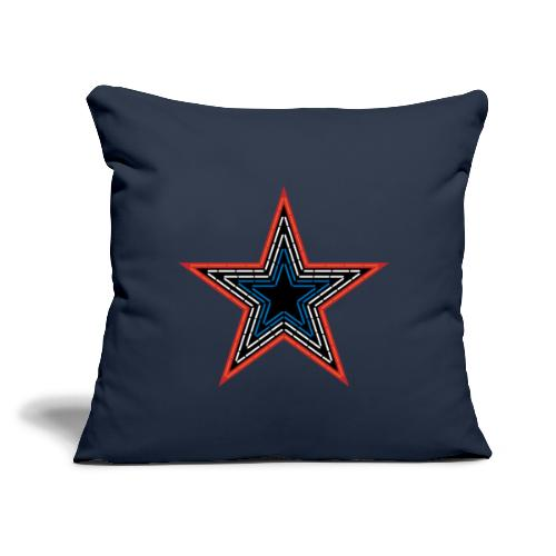 Roanoke Virginia Pride Mill Mountain Star - Throw Pillow Cover