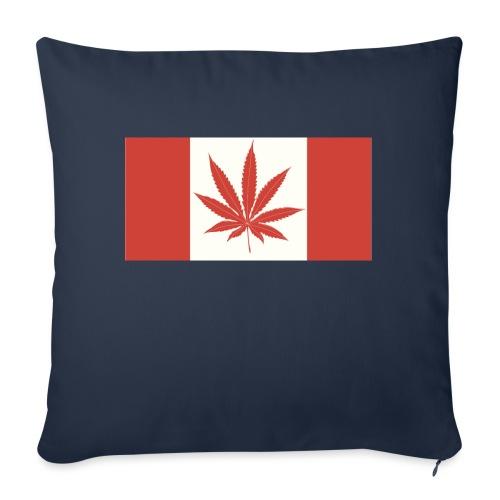 "Canada 420 - Throw Pillow Cover 18"" x 18"""