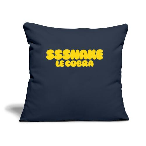 """SSSNAKE - Throw Pillow Cover 17.5"""" x 17.5"""""""