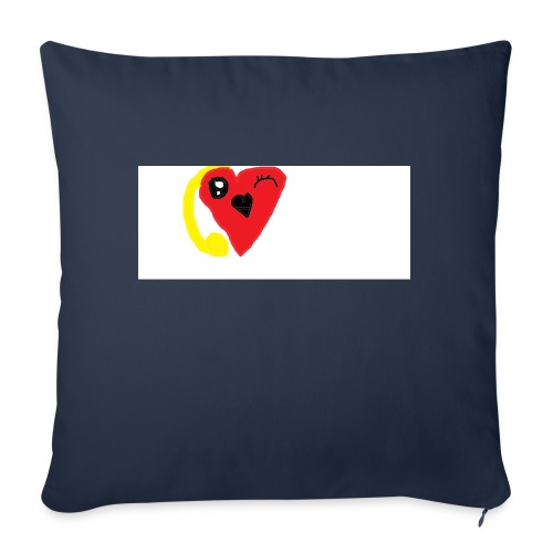 "love heat - Throw Pillow Cover 17.5"" x 17.5"""