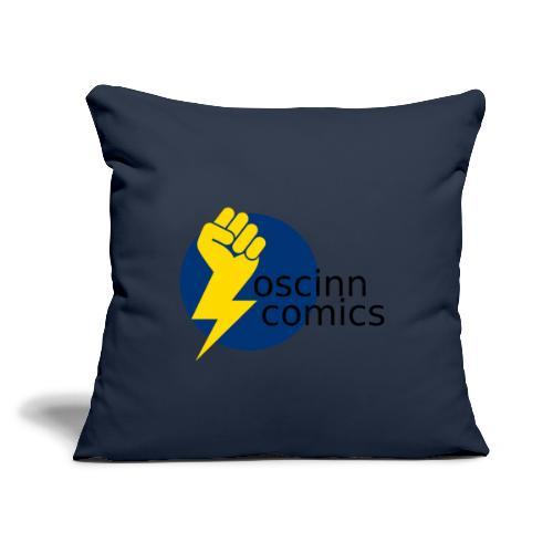 "OSCINN - Throw Pillow Cover 17.5"" x 17.5"""