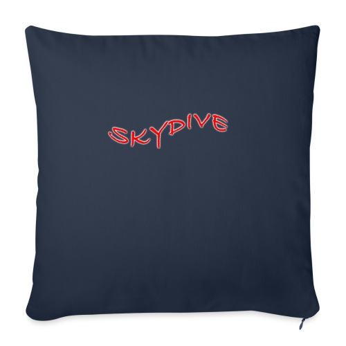 """Skydive/BookSkydive - Throw Pillow Cover 17.5"""" x 17.5"""""""