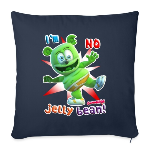 "I'm No Jelly Bean - Throw Pillow Cover 17.5"" x 17.5"""