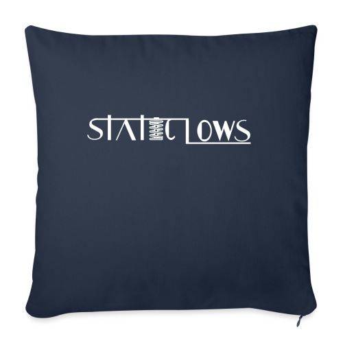 """Staticlows - Throw Pillow Cover 18"""" x 18"""""""