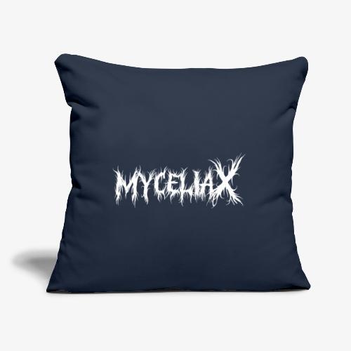 "myceliaX - Throw Pillow Cover 17.5"" x 17.5"""