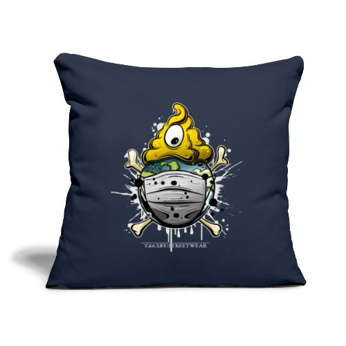 """one covid nation - Throw Pillow Cover 17.5"""" x 17.5"""""""