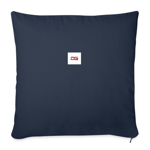 "DGHW2 - Throw Pillow Cover 17.5"" x 17.5"""