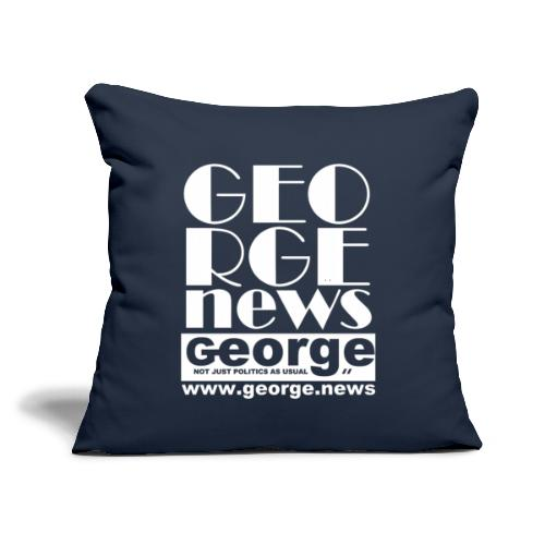 """WE ARE GEORGE - Throw Pillow Cover 17.5"""" x 17.5"""""""