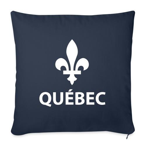 "Québec - Throw Pillow Cover 18"" x 18"""