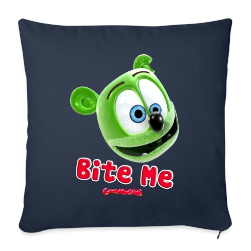 "Bite Me - Throw Pillow Cover 17.5"" x 17.5"""