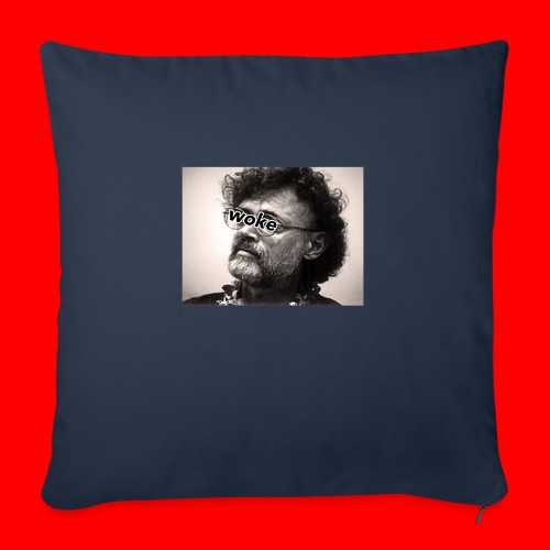 """OxyGang: Woke Terence McKenna - Throw Pillow Cover 17.5"""" x 17.5"""""""