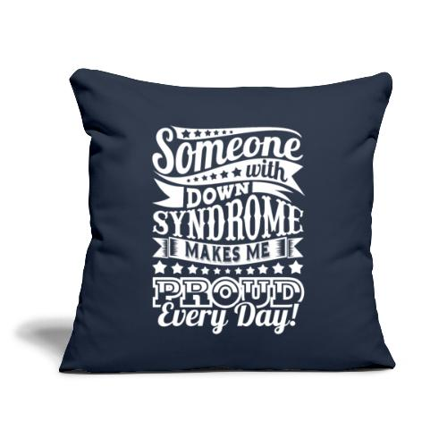 """Makes Me Proud - Throw Pillow Cover 18"""" x 18"""""""