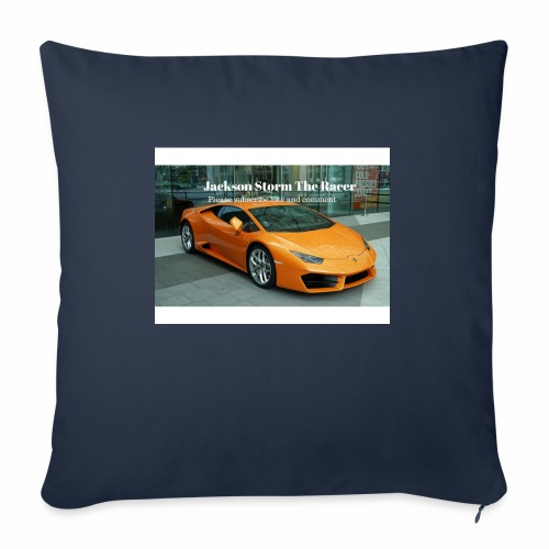 "The jackson merch - Throw Pillow Cover 18"" x 18"""