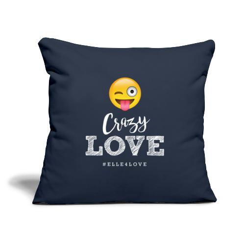 "Crazy Love - Throw Pillow Cover 17.5"" x 17.5"""