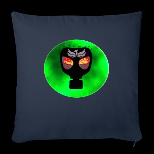 """Infamous - Throw Pillow Cover 18"""" x 18"""""""