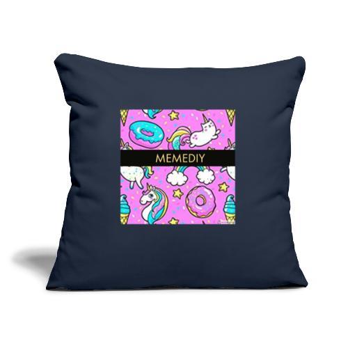 "MemeDiy - Throw Pillow Cover 18"" x 18"""