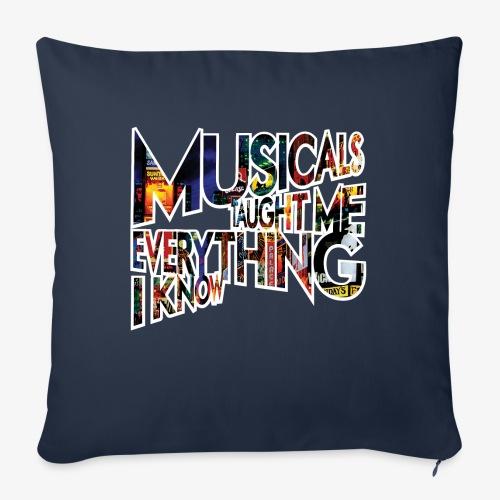 "MTMEIK Broadway - Throw Pillow Cover 17.5"" x 17.5"""