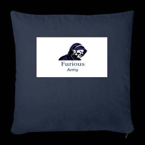 "savage hoddie - Throw Pillow Cover 17.5"" x 17.5"""