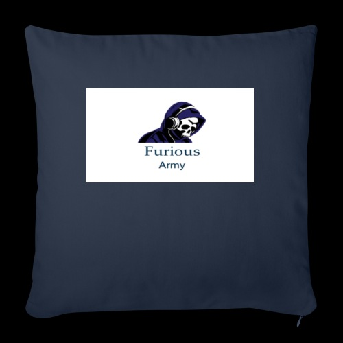 "savage hoddie - Throw Pillow Cover 18"" x 18"""